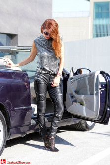 Powerful leather...!