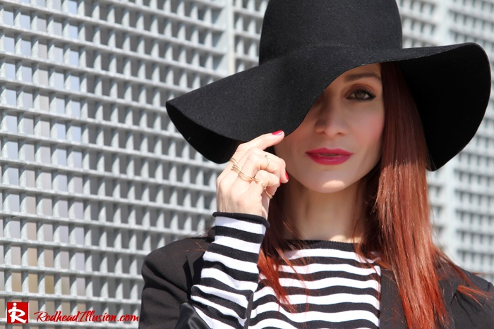 Redhead Illusion - Stripes - Classic match-06