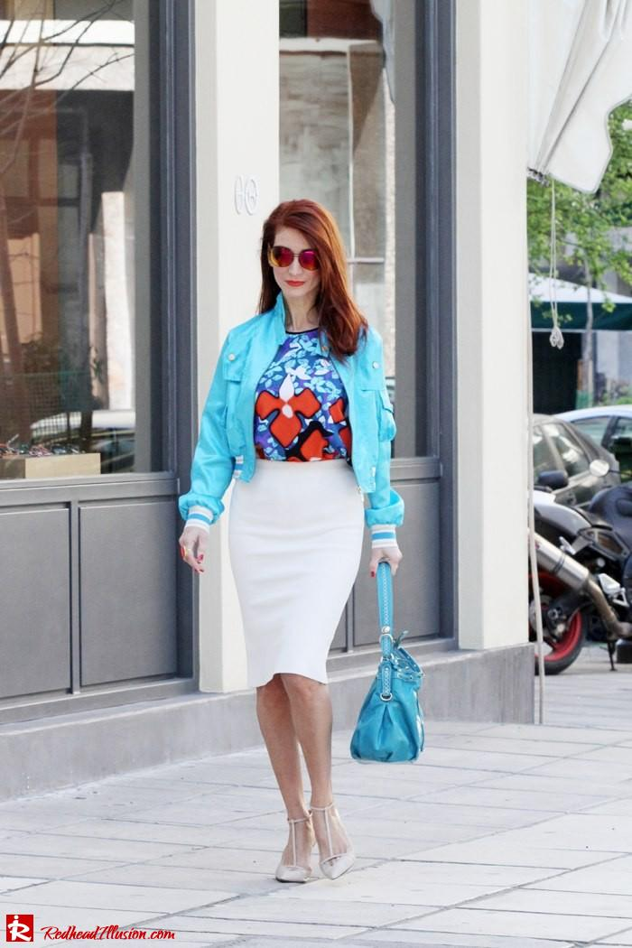The skirt and the bomber!