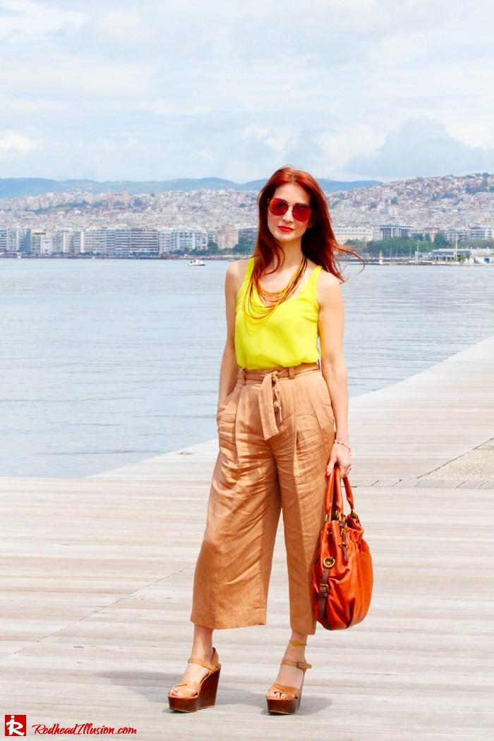 Redhead Illusion - Culottes - Wide leg pants-06