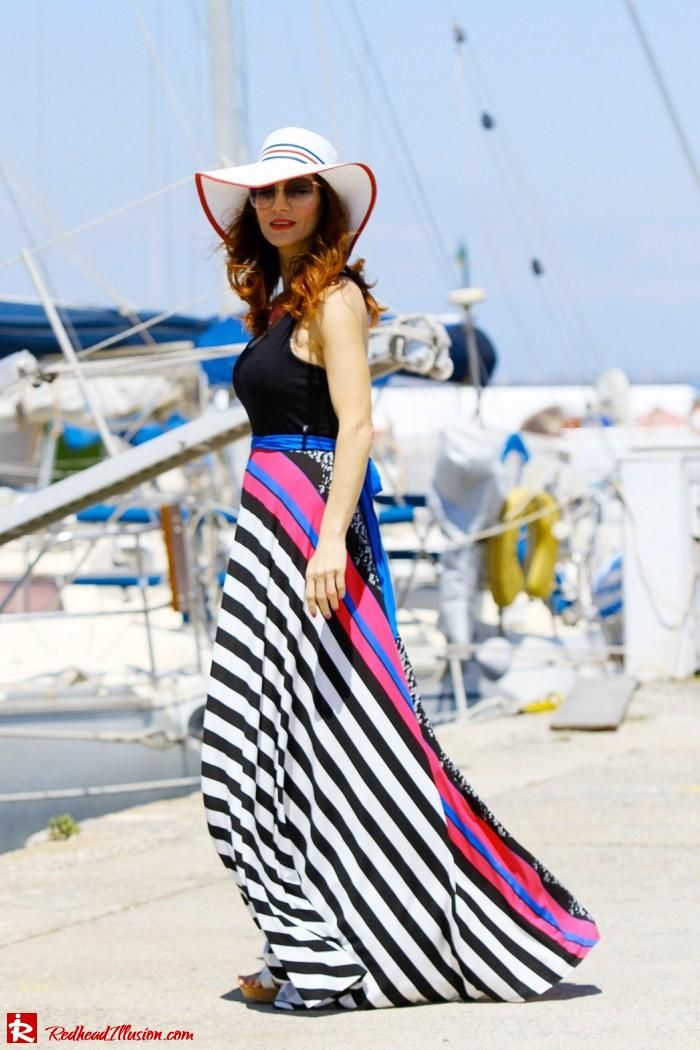 Redhead Illusion - Gone with the wind - Maxi dress-02