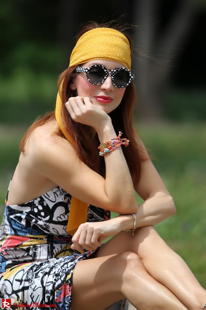 Redhead Illusion - Hippie chic-Denny Rose Dress-06