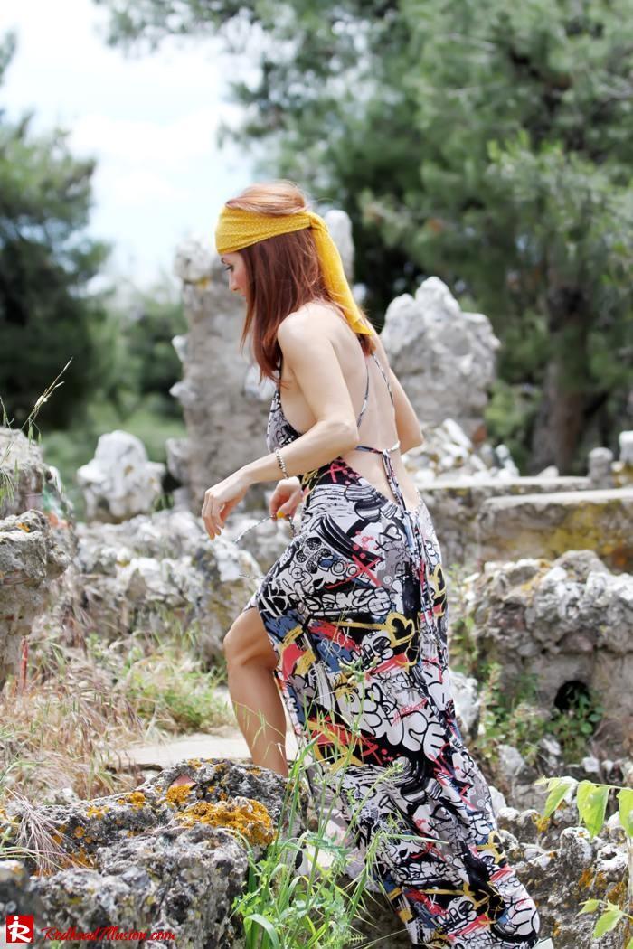 Redhead Illusion - Hippie chic-Denny Rose Dress-07
