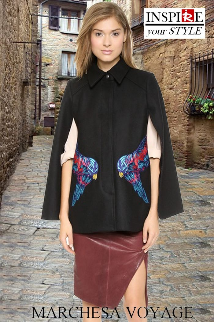 Redhead Illusion - Cape... Town - Fashion Capes - Inspire your style-04
