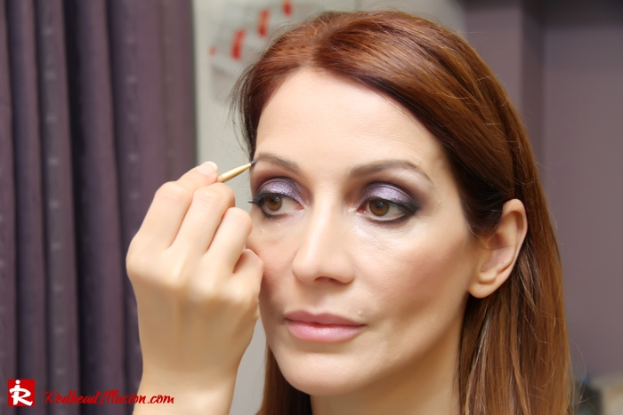 Redhead Illusion - Makeup time - Jane Iredale-06