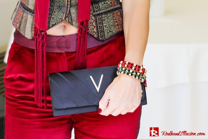 Redhead illusion - Red velvet - Altuzarra for target - Velvet Suit-07
