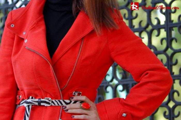 Redhead Illusion - Vitamin C - River Island Skirt - Karen Millen Coat-06