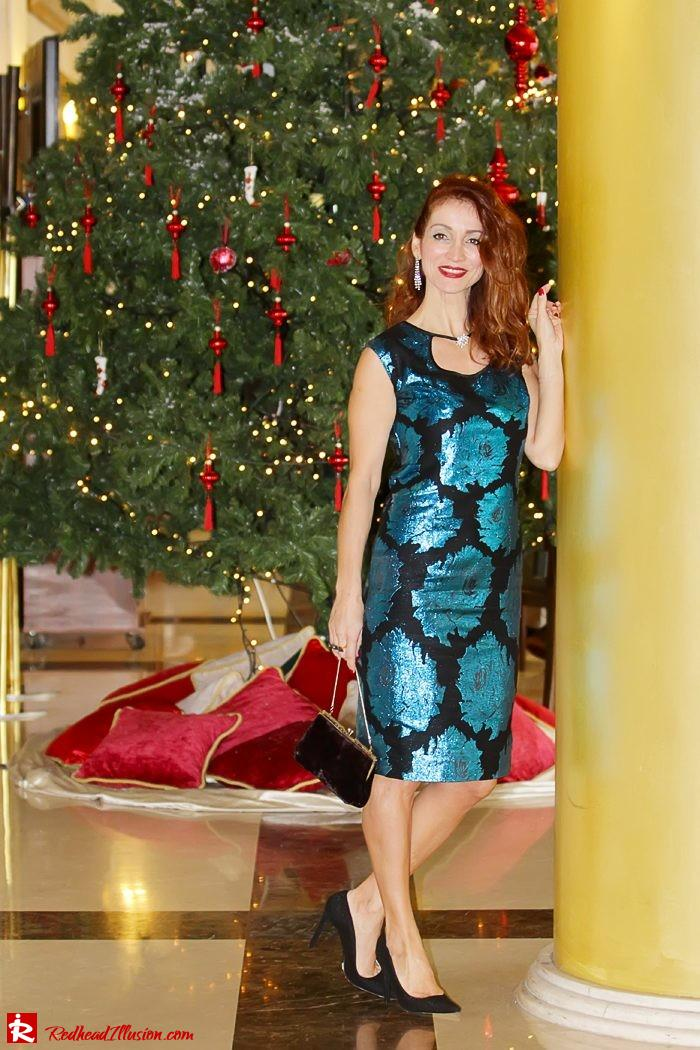 Redhead Illusion - The most wonderful time of the year is christmas - Vintage Dress-08