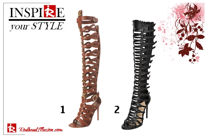 Redhead Illusion - Gladiator Sandals for the summer - Inspire your style-02