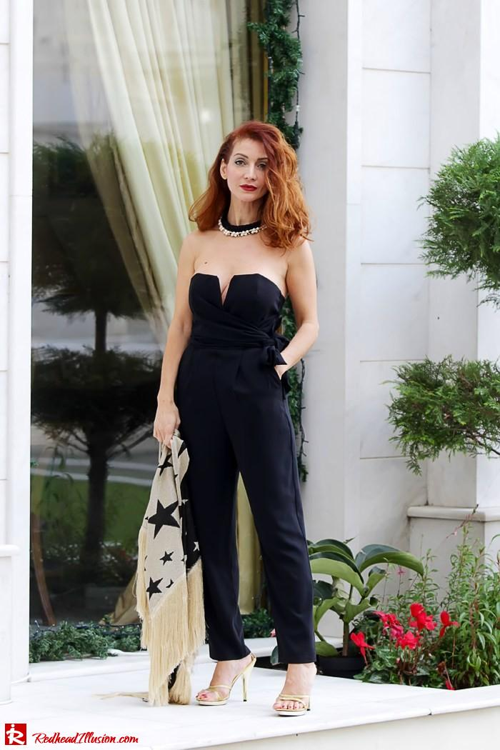 Redhead Illusion - My obsession goes on - Denny Rose Jumpsuit-07