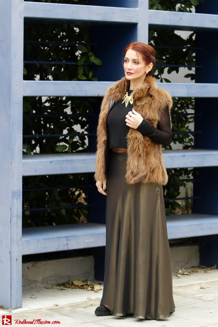 Bronze skirt!