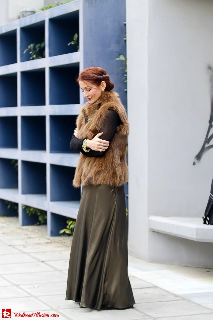 Redhead Illusion - Fashion Blog by Menia - Bronze Skirt - River Island Skirt-08