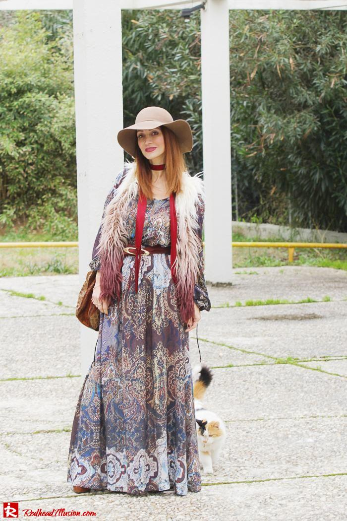 Redhead Illusion - Fashion Blog by Menia - One and only - Peasant Dress by Access-02
