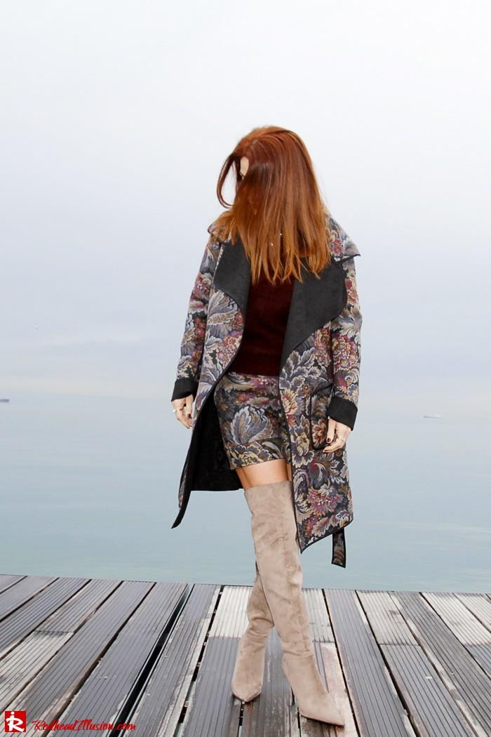 Redhead Illusion - Fashion Blog by Menia - Brocade - Access Total Look - Fedora Fashion-02