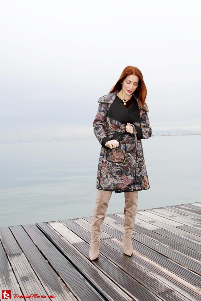 Redhead Illusion - Fashion Blog by Menia - Brocade - Access Total Look - Fedora Fashion-08
