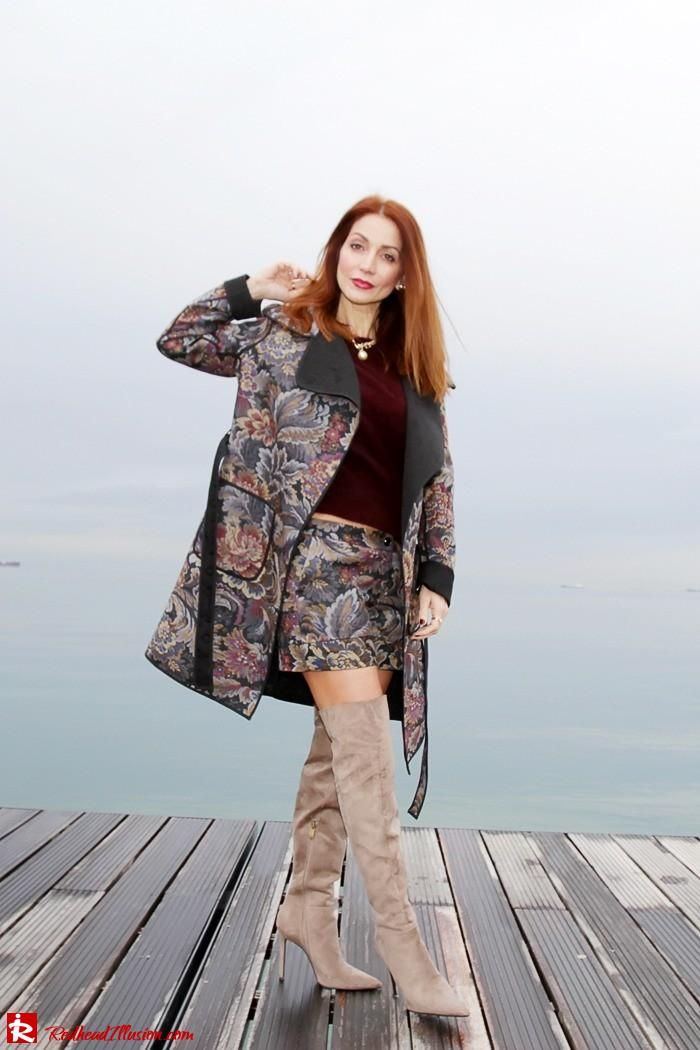 Redhead Illusion - Fashion Blog by Menia - Brocade - Access Total Look - Fedora Fashion-10