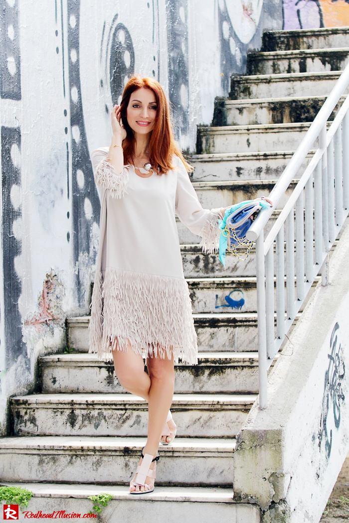 Redhead Illusion - Fashion Blog by Menia - Comfortable but also stylish - Twin-set Dress-03