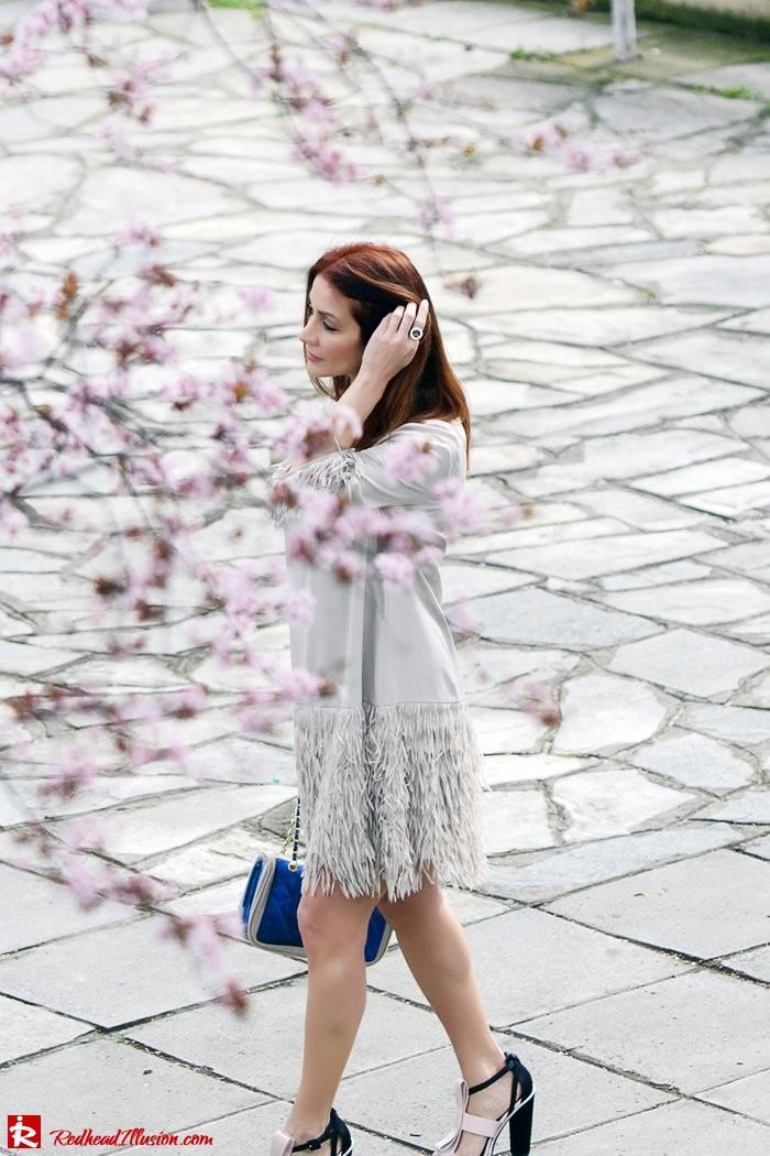 Redhead Illusion - Fashion Blog by Menia - Comfortable but also stylish - Twin-set Dress-04