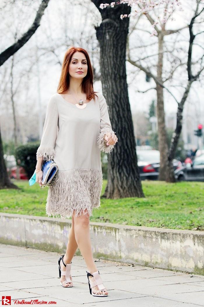 Redhead Illusion - Fashion Blog by Menia - Comfortable but also stylish - Twin-set Dress-05