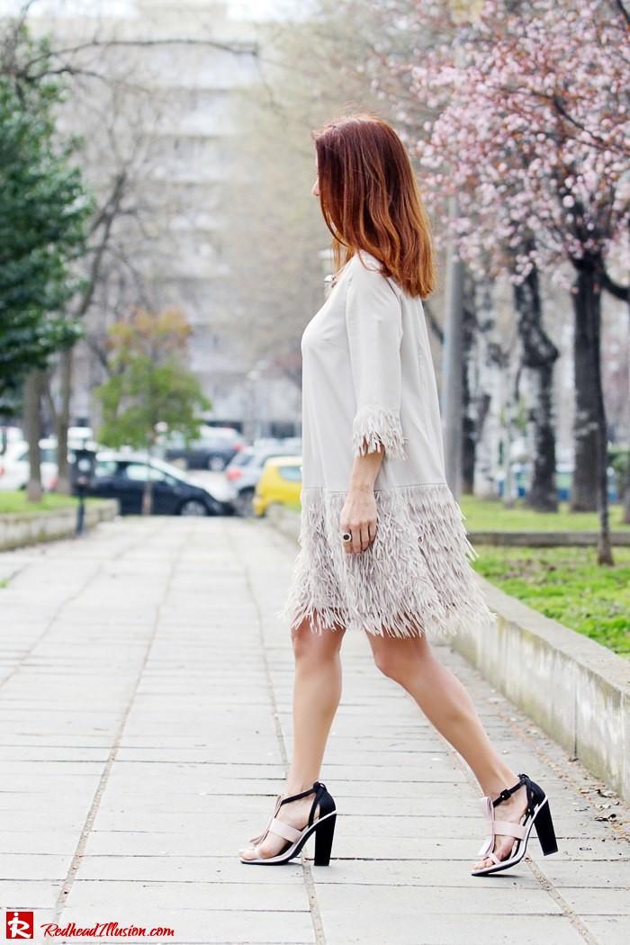 Redhead Illusion - Fashion Blog by Menia - Comfortable but also stylish - Twin-set Dress-06