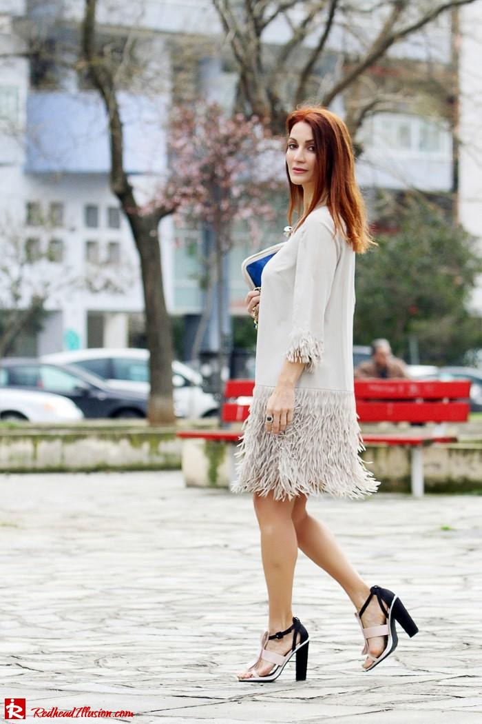 Redhead Illusion - Fashion Blog by Menia - Comfortable but also stylish - Twin-set Dress-07