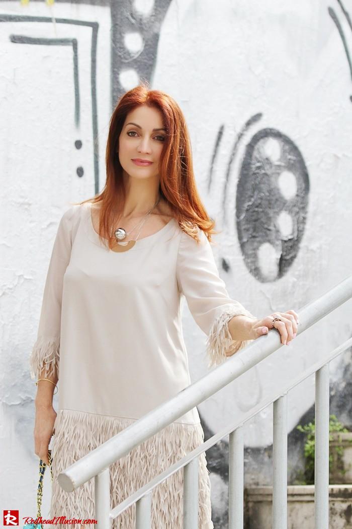 Redhead Illusion - Fashion Blog by Menia - Comfortable but also stylish - Twin-set Dress-10