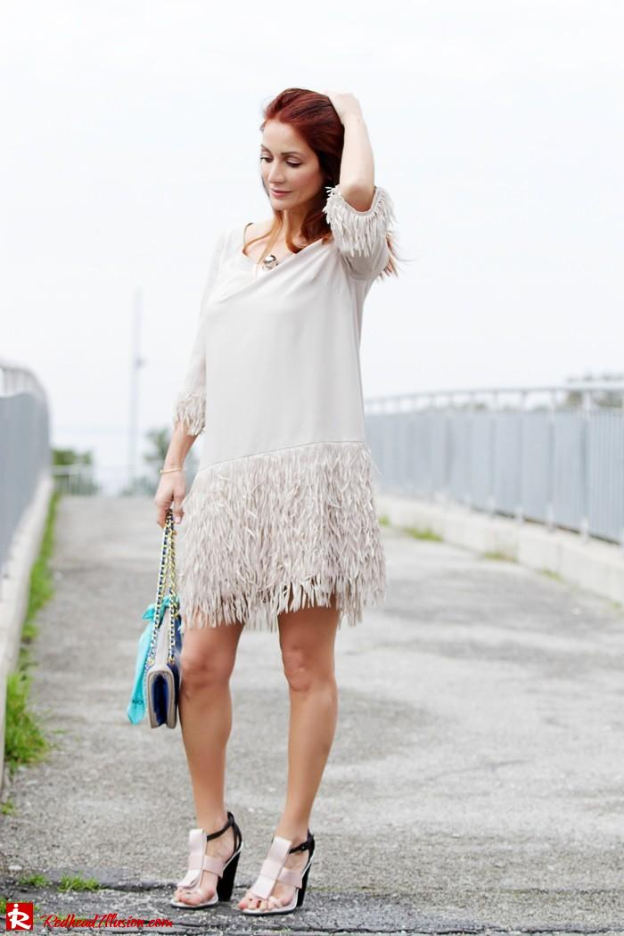 Redhead Illusion - Fashion Blog by Menia - Comfortable but also stylish - Twin-set Dress-11