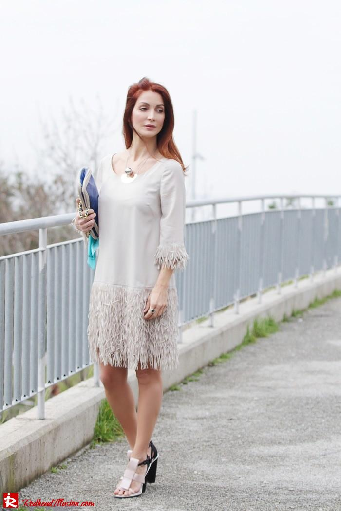 Redhead Illusion - Fashion Blog by Menia - Comfortable but also stylish - Twin-set Dress-12