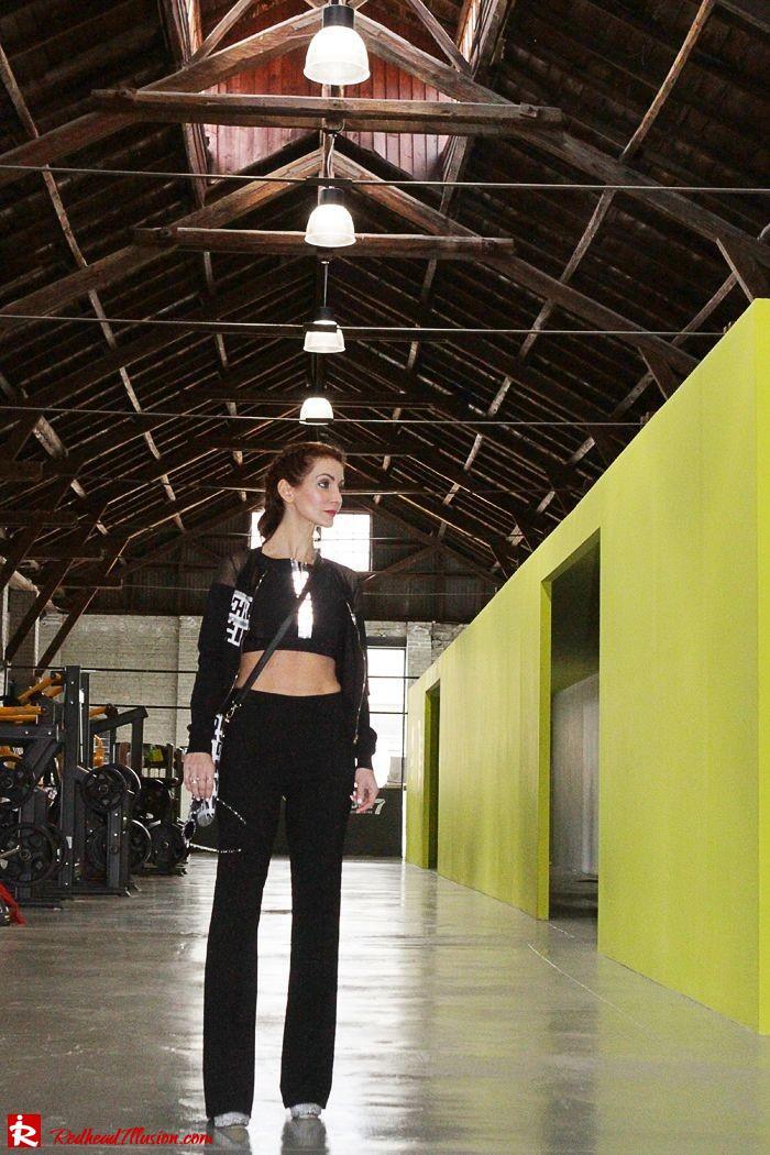 Redhead Illusion - Fashion Blog by Menia - Fashion gymaholic - Alexander Wang x H&M Sports Bra-108