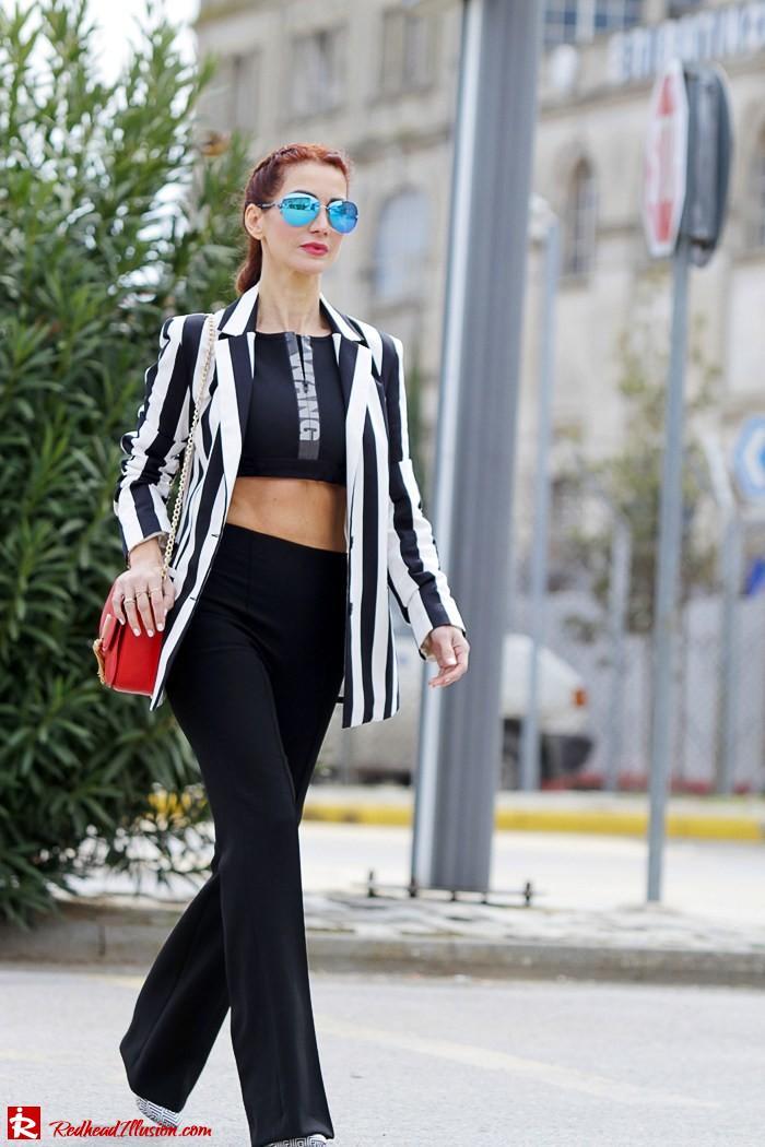 Redhead Illusion - Fashion Blog by Menia - Fashion gymaholic - Alexander Wang x H&M Sports Bra-201