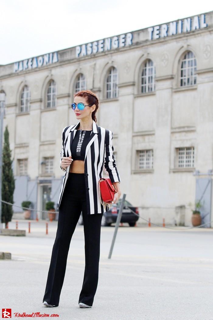 Redhead Illusion - Fashion Blog by Menia - Fashion gymaholic - Alexander Wang x H&M Sports Bra-204