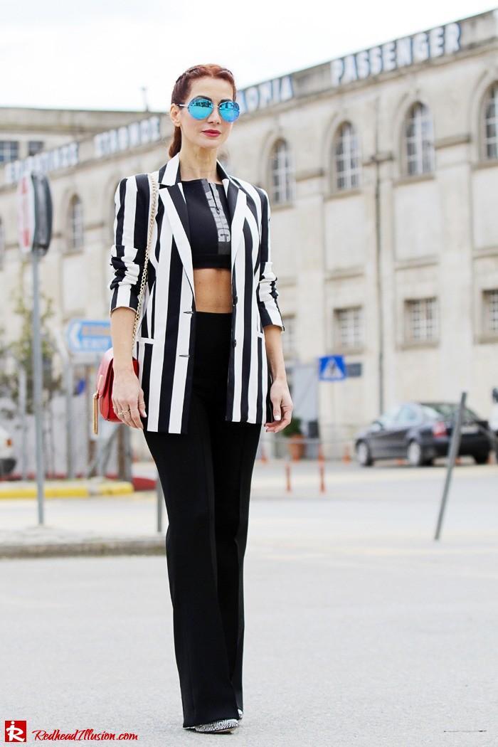 Redhead Illusion - Fashion Blog by Menia - Fashion gymaholic - Alexander Wang x H&M Sports Bra-206
