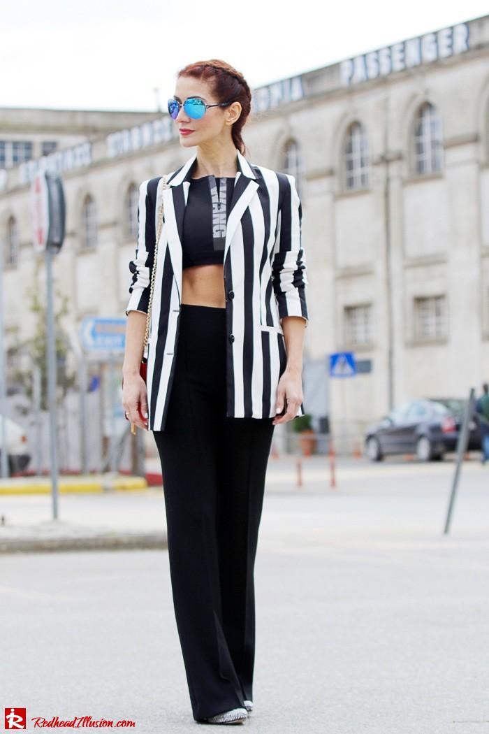 Redhead Illusion - Fashion Blog by Menia - Fashion gymaholic - Alexander Wang x H&M Sports Bra-207