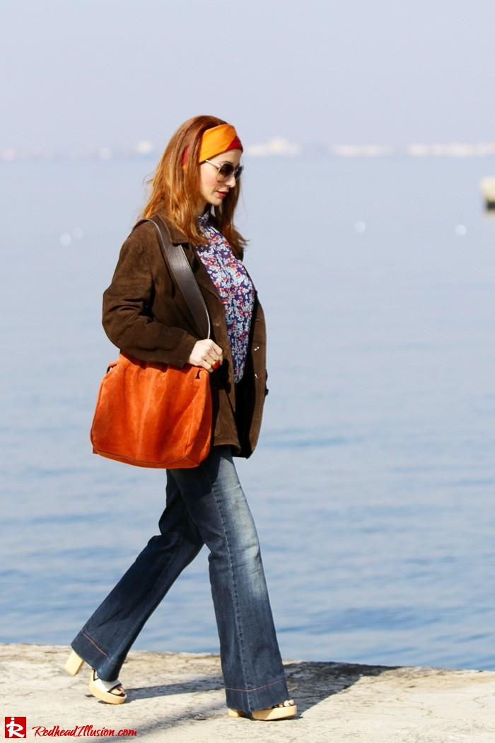 Redhead Illusion - Fashion blog by Menia - Flared Jeans - Denny Rose Jeans-02