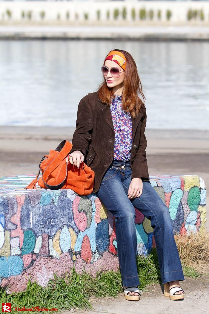 Redhead Illusion - Fashion blog by Menia - Flared Jeans - Denny Rose Jeans-09