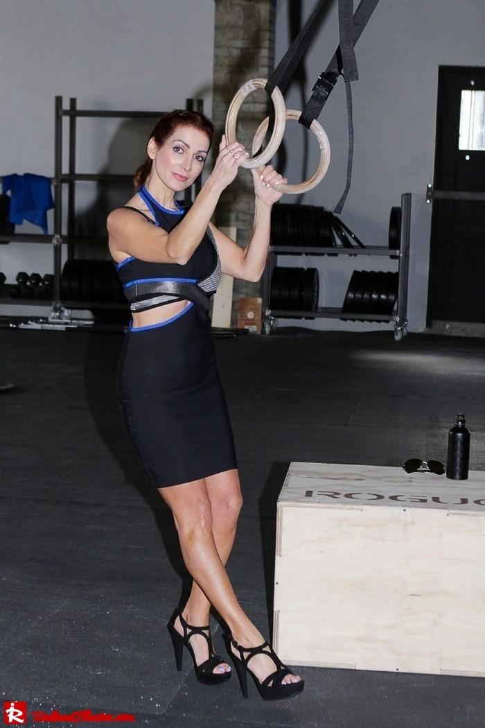Redhead Illusion - Fashion Blog by Menia - Fashion gymaholic part 2! - Alexander Wang Sporty dress-06