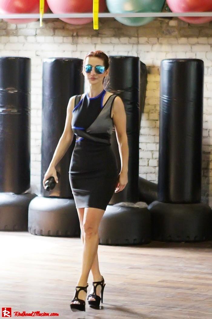 Redhead Illusion - Fashion Blog by Menia - Fashion gymaholic part 2! - Alexander Wang Sporty dress-11
