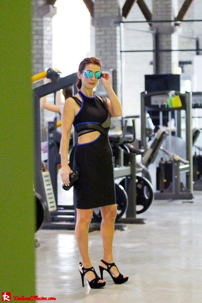 Redhead Illusion - Fashion Blog by Menia - Fashion gymaholic part 2! - Alexander Wang Sporty dress-13