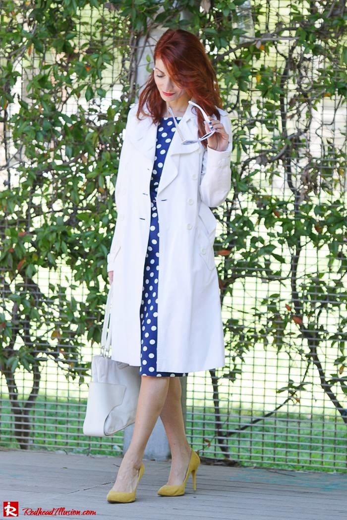 Redhead Illusion - Fashion Blog by Menia - Fashion Dots - Denny Rose Polka Dot Dress-10