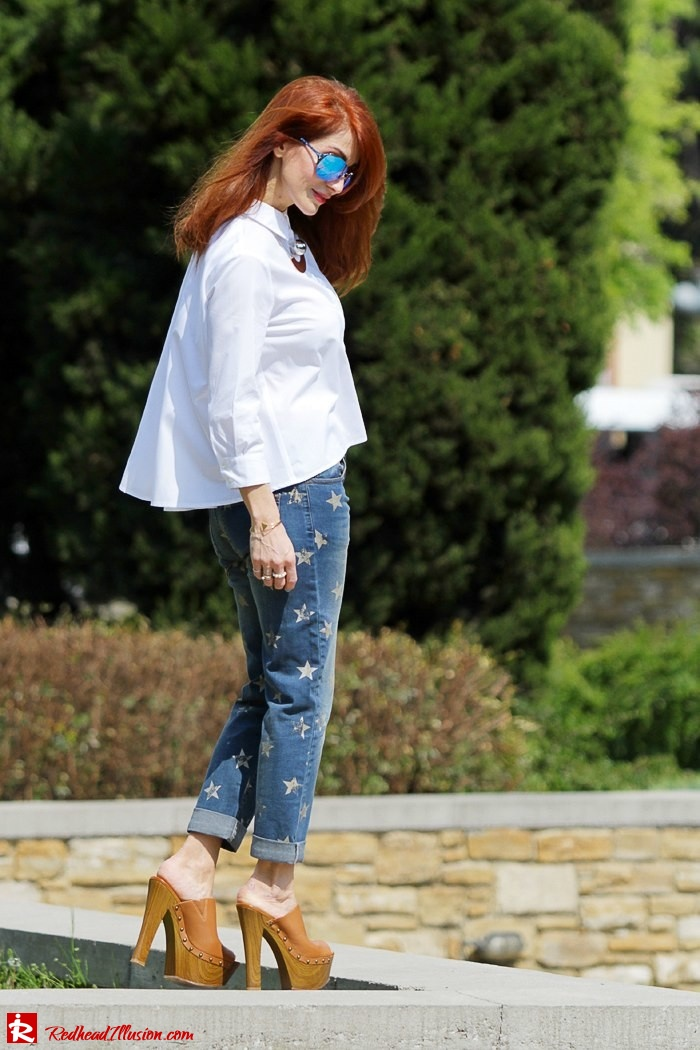 Redhead Illusion - Fashion Blog by Menia - Not classic - Denny Rose Jeans and Shirt-04