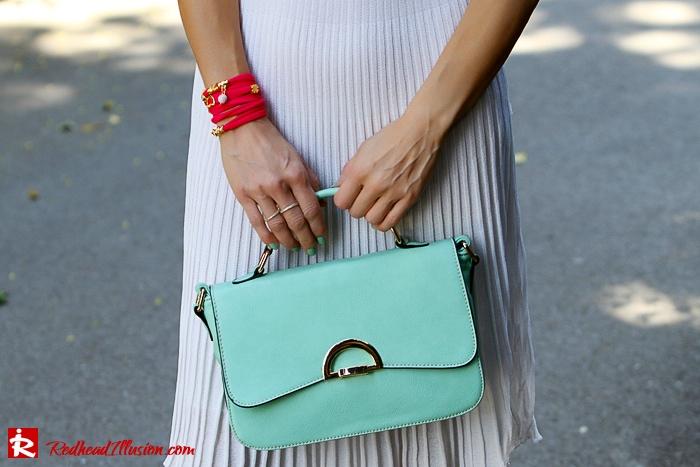 Redhead Illusion - Fashion Blog by Menia - Simplicity - White Dress - Gucci Sunglasses - Sugarcube Bag-04