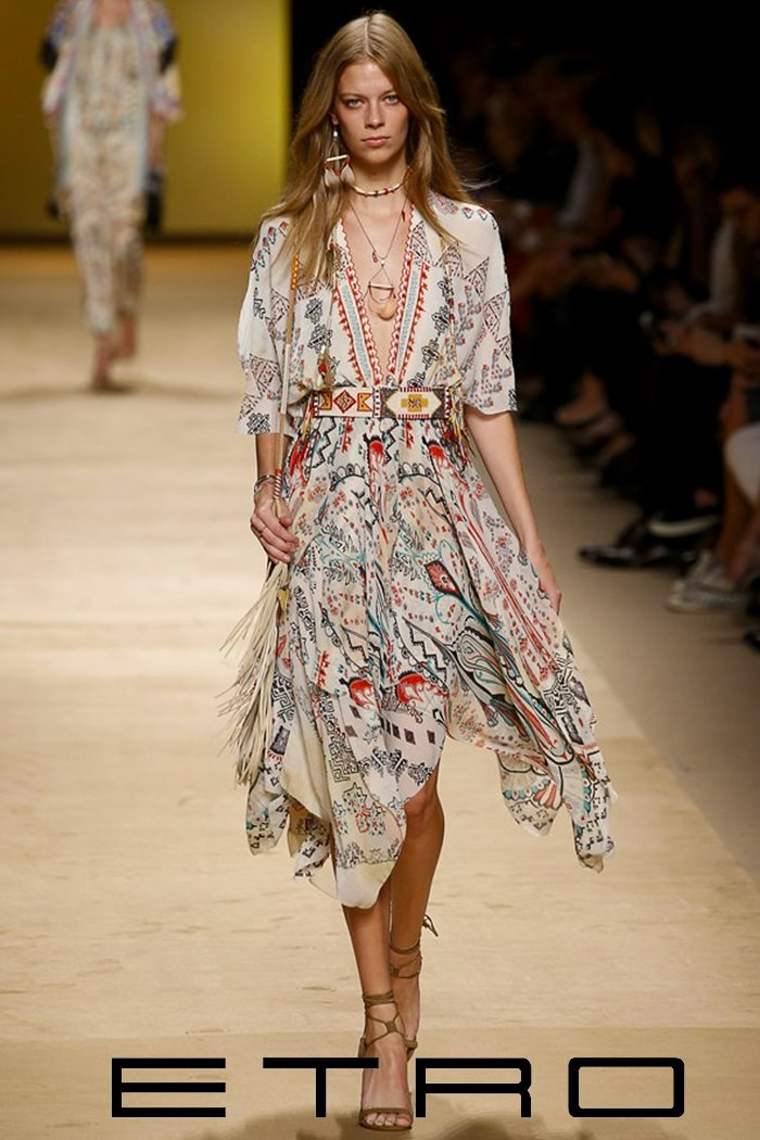 Fashion Show 2015 Summer Music Etro Spring Summer