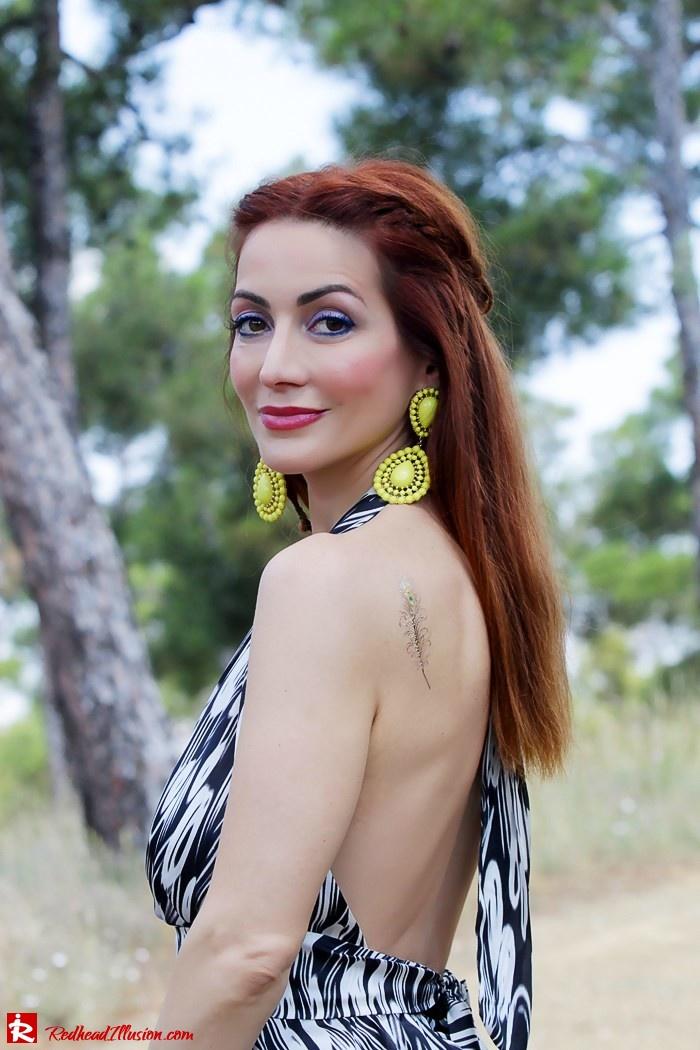 Redhead Illusion - Fashion Blog by Menia - Gipsy Land - Long Dress with Platform Shoes-07
