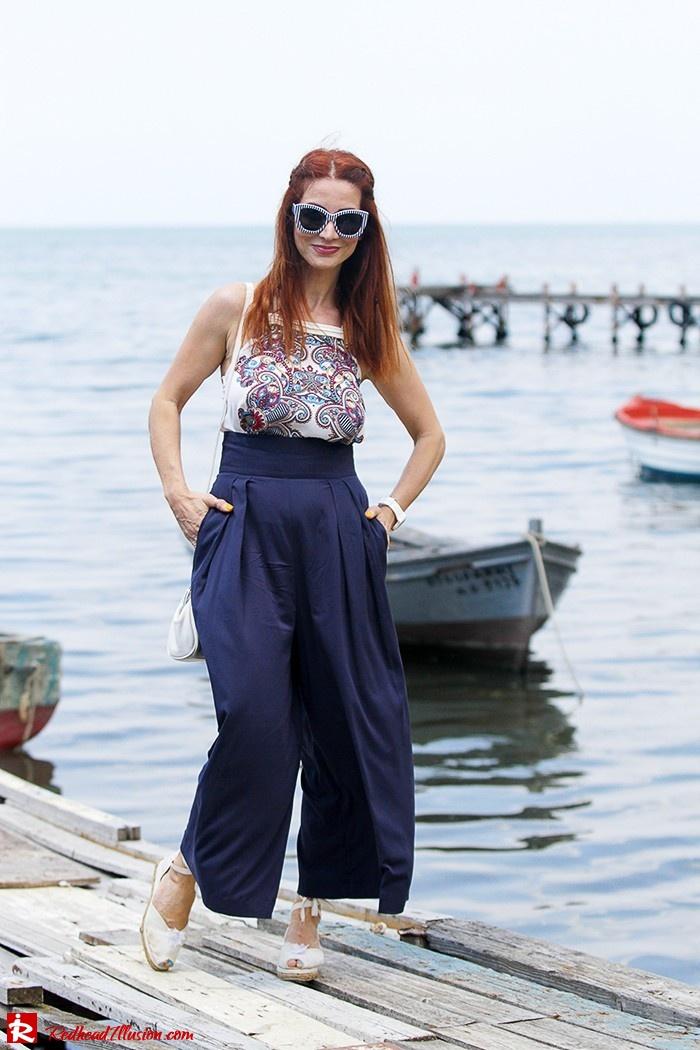 Redhead Illusion - Fashion Blog by Menia - Double Choice - culotte-03