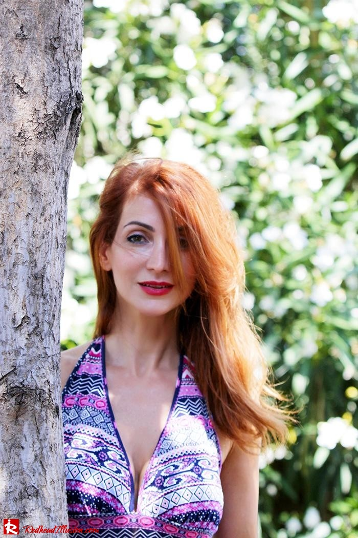 Redhead Illusion - Fashion Blog by Menia - Ethnic Trip - Asos Long Dress-07