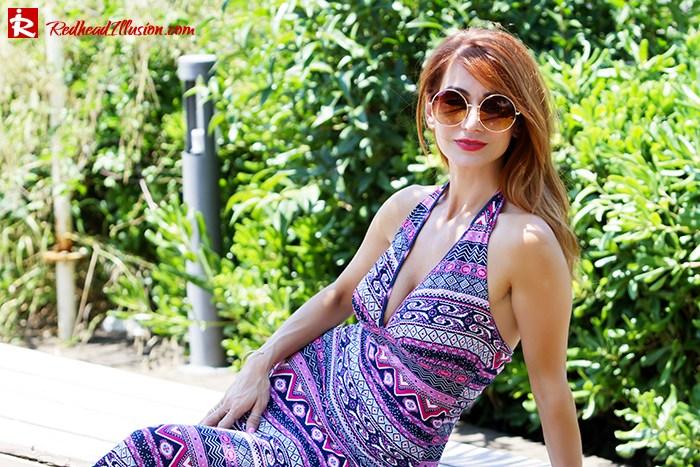 Redhead Illusion - Fashion Blog by Menia - Ethnic Trip - Asos Long Dress-09