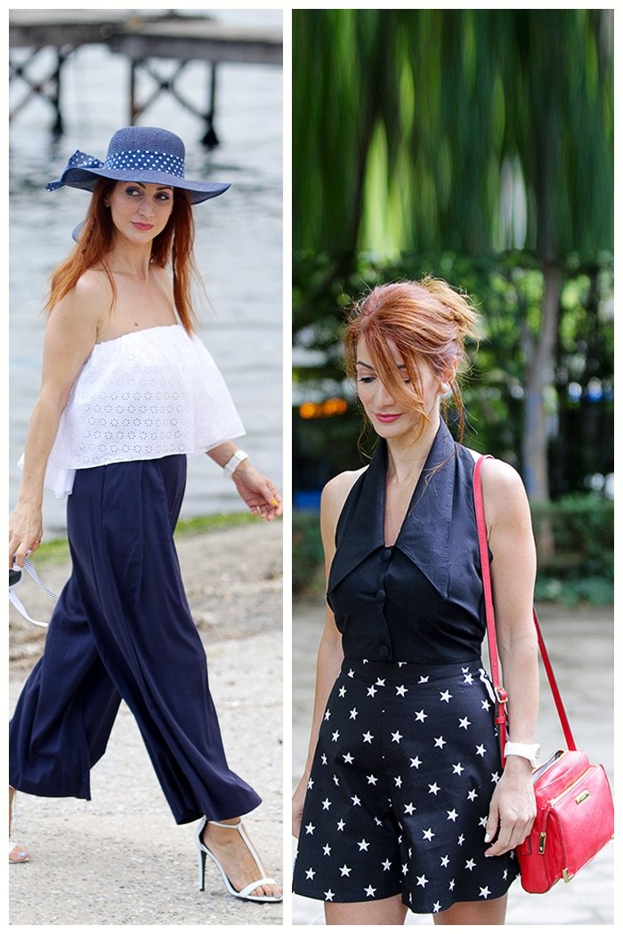 Redhead Illusion - Fashion Blog by Menia - Lately - Culotte - Denny Rose Shorts-02