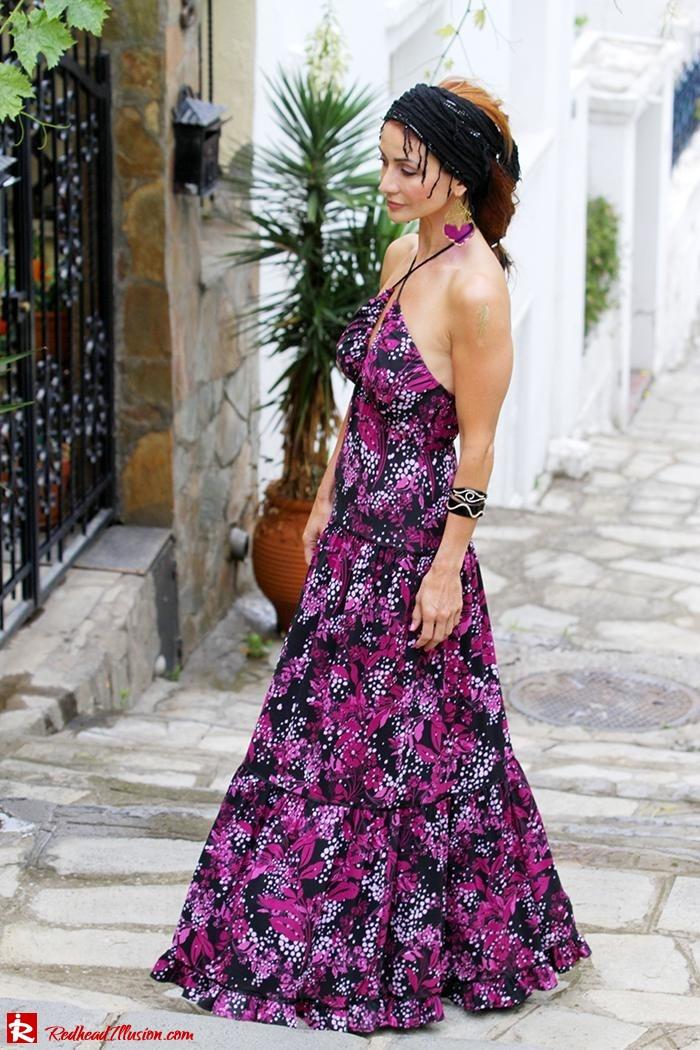 Redhead Illusion - Fashion Blog by Menia - Maxi overload - Victoria's Secret Dress-02
