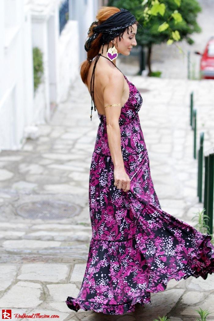 Redhead Illusion - Fashion Blog by Menia - Maxi overload - Victoria's Secret Dress-03