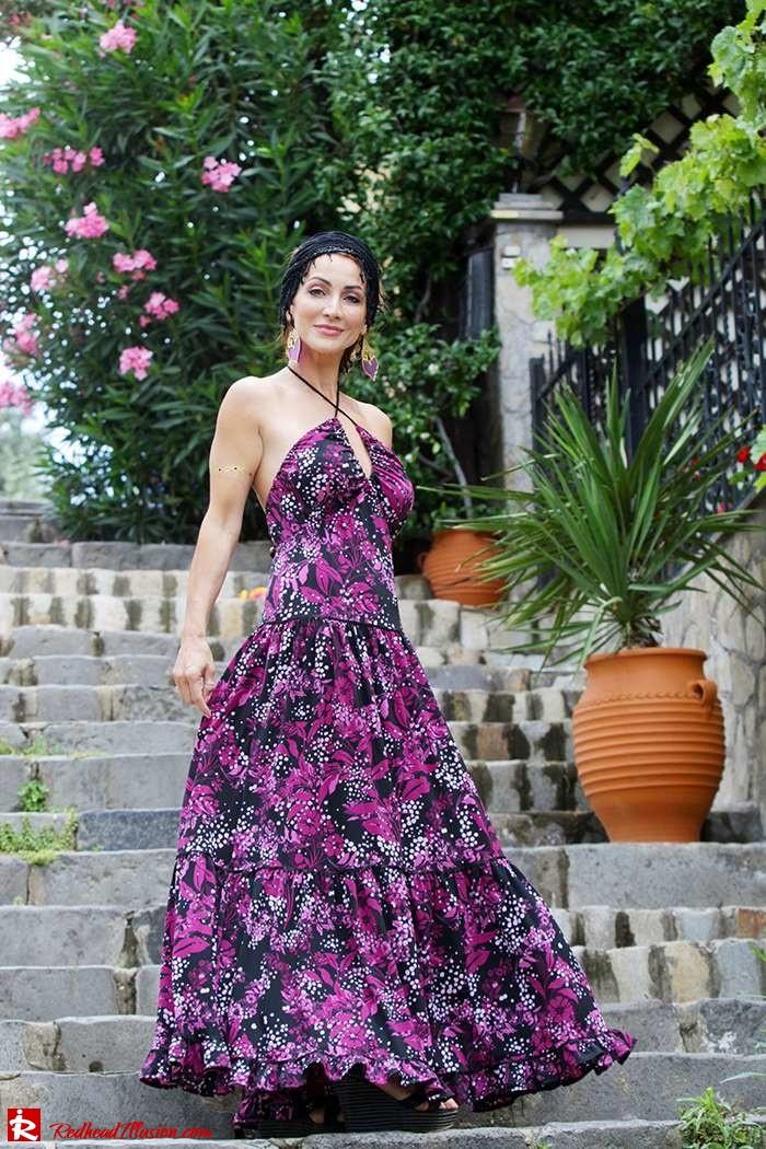 Redhead Illusion - Fashion Blog by Menia - Maxi overload - Victoria's Secret Dress-06